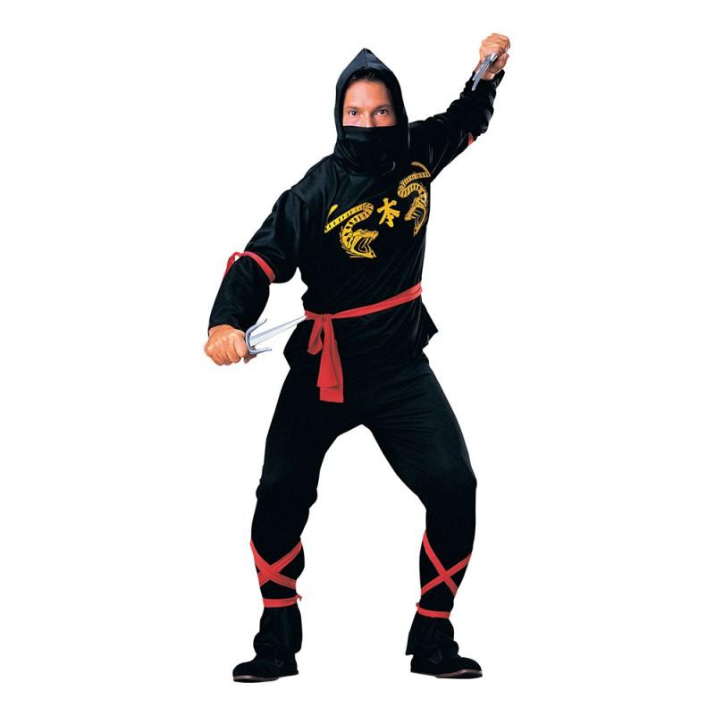 Ninja Maskeraddräkt - One size