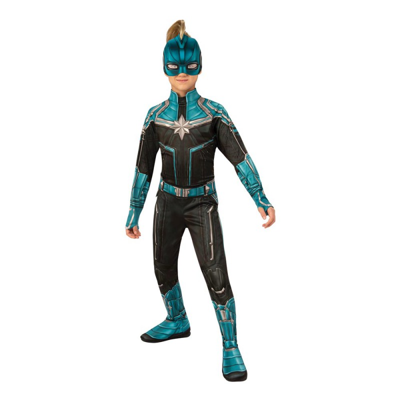 Captain Marvel Kree Barn Maskeraddräkt - Small