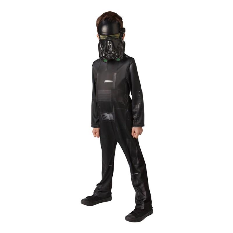 Star Wars Rouge One Death Trooper Barn Maskeraddräkt - Medium