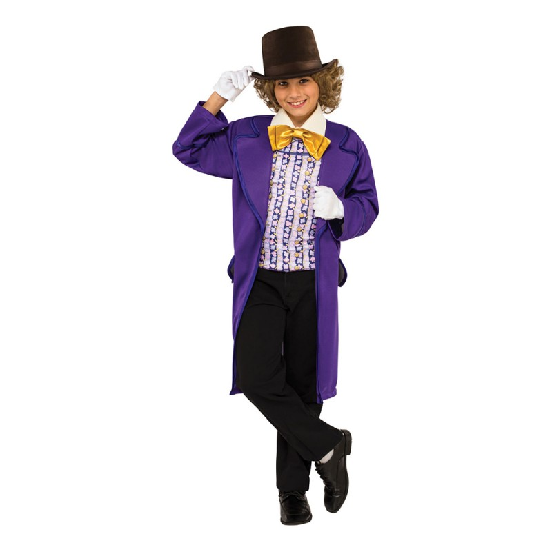 Willy Wonka Barn Maskeraddräkt - Small