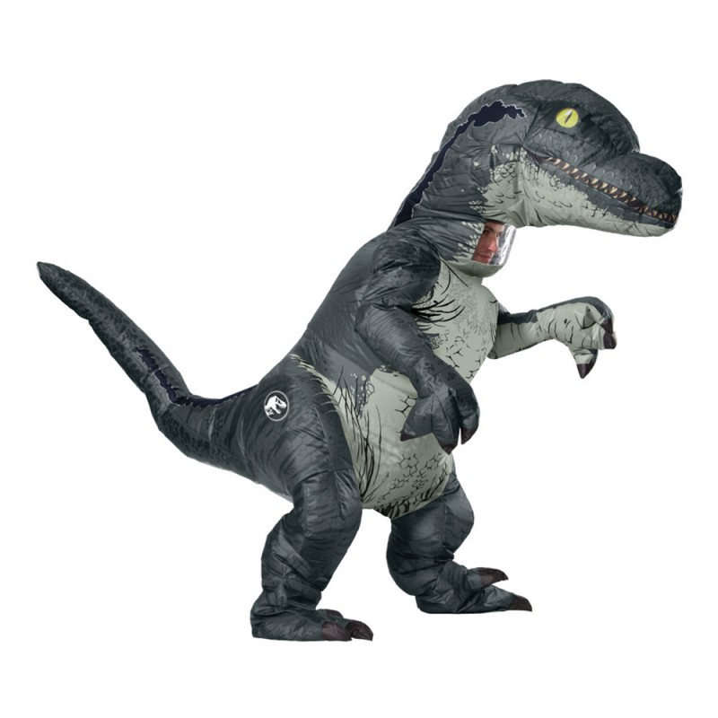 Uppblåsbar Velociraptor Maskeraddräkt - One size