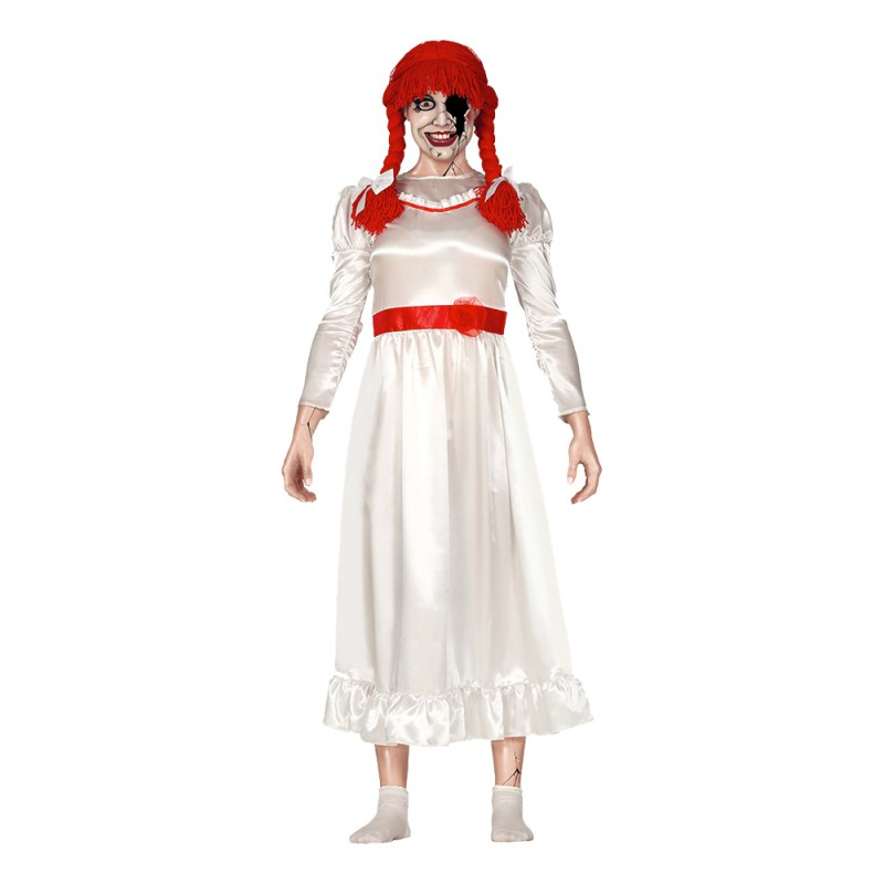 Elak Docka Halloween Maskeraddräkt - One size