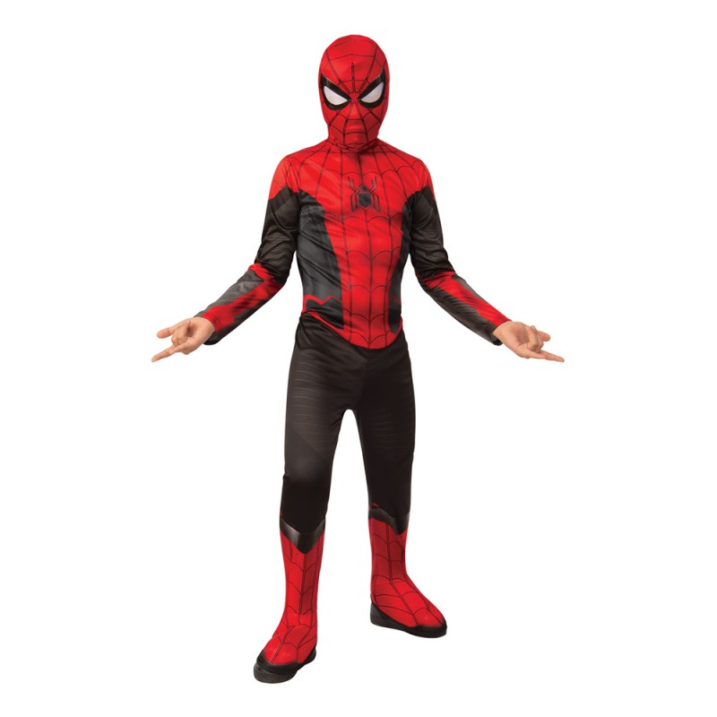 Spider-Man Jumpsuit Barn Maskeraddräkt - Small