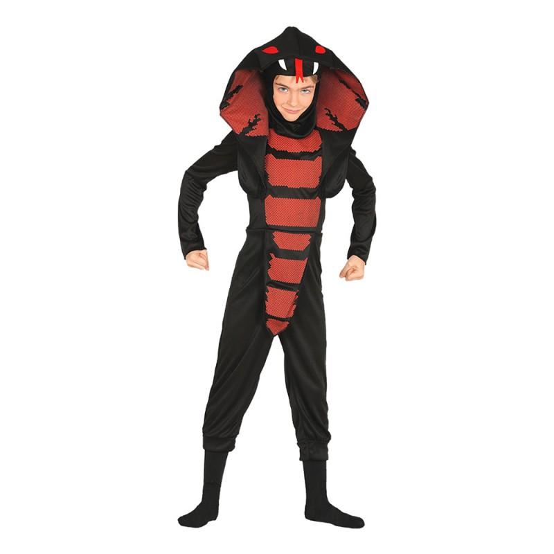Ninja Kobra Barn Maskeraddräkt - X-Small