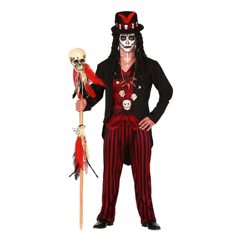 Voodoo-Man Maskeraddräkt - Medium