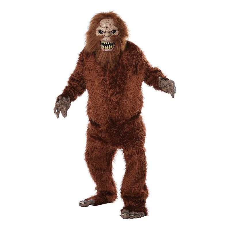 Bigfoot Maskeraddräkt - One Size
