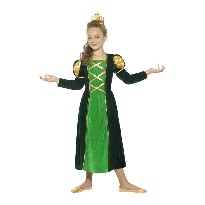 Medeltida Prinsessa Barn Maskeraddräkt - Large