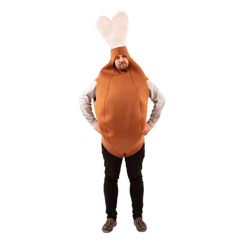 Kycklingklubba Maskeraddräkt - One size