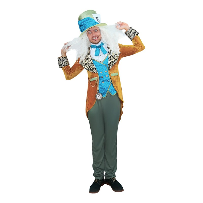 Mad Hatter Classic Deluxe Maskeraddräkt - X-Large