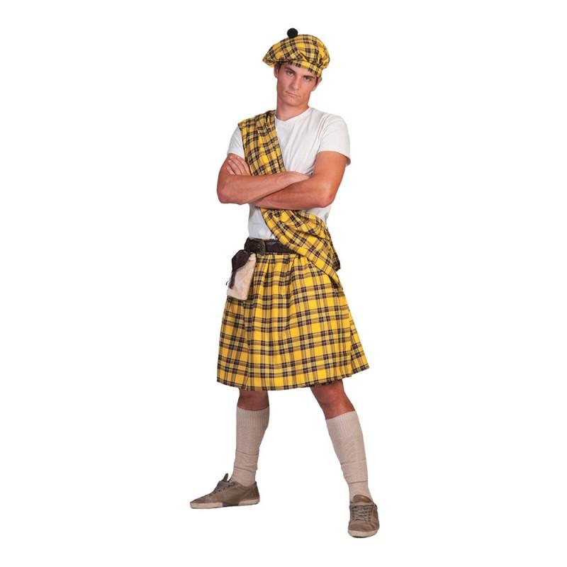 Highlander Gul Maskeraddräkt - One size