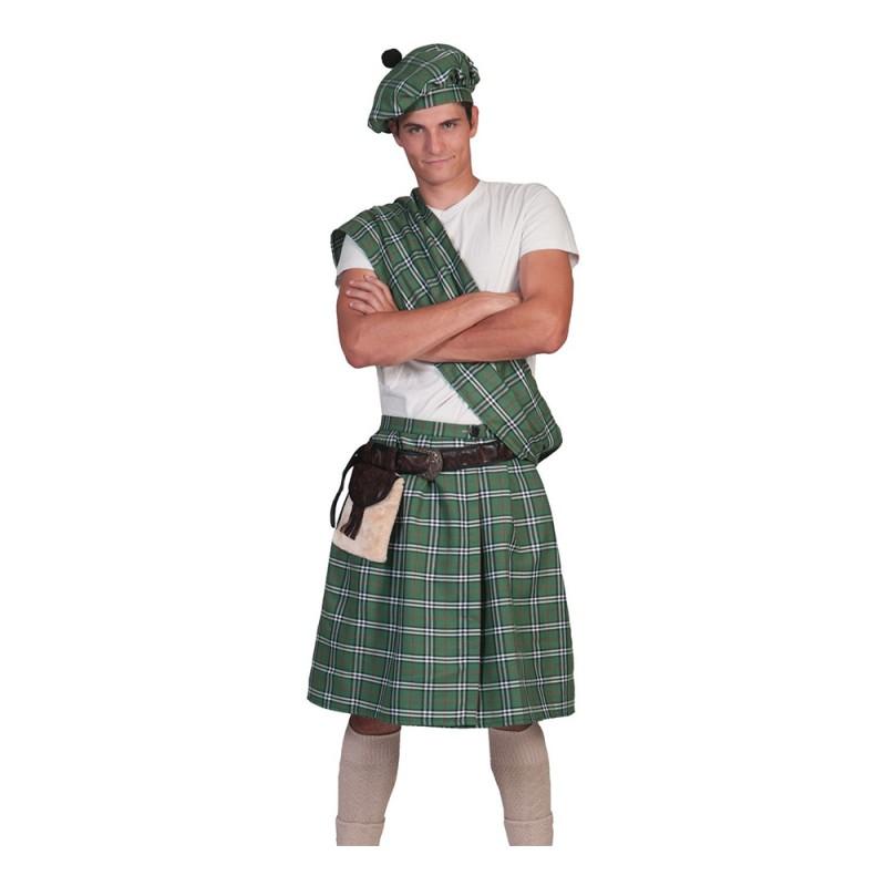 Highlander Grön Maskeraddräkt - One size
