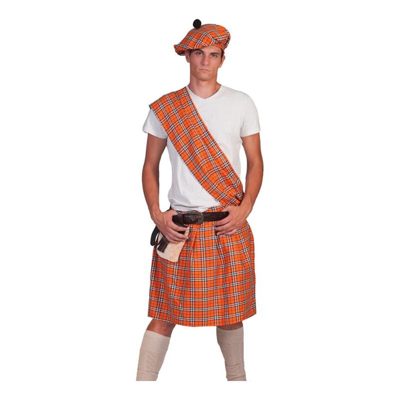 Highlander Orange Maskeraddräkt - One size