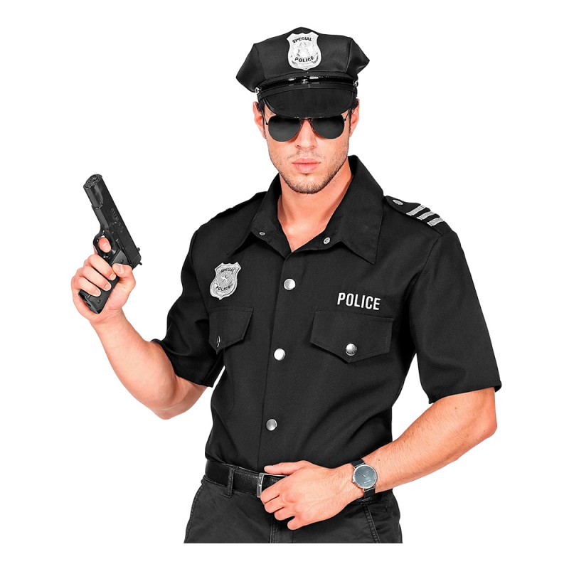 Polisskjorta - Small/Medium