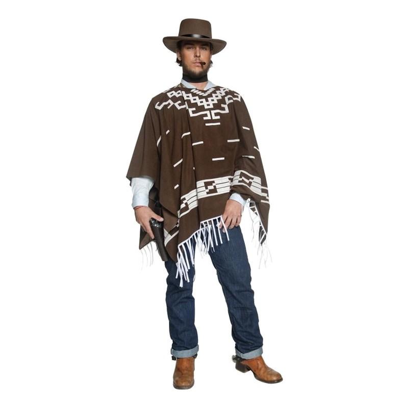 Clint Eastwood Maskeraddräkt - Medium