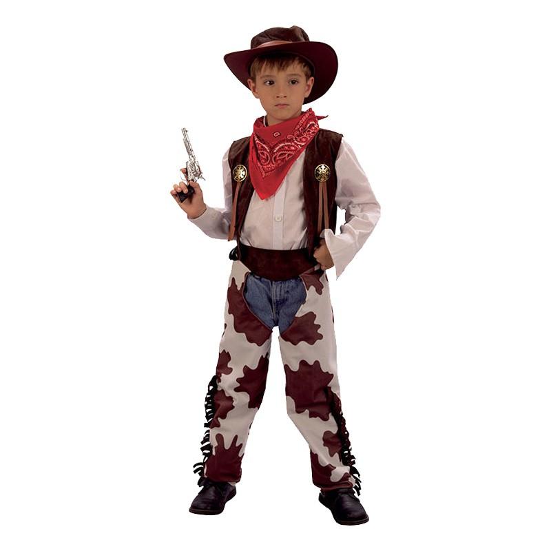 Cowboy Barn Maskeraddräkt - Small
