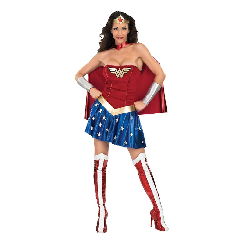 Wonder Woman Maskeraddräkt - Small