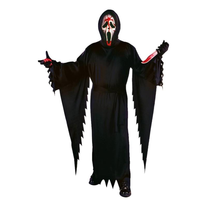 Blödande Scream Maskeraddräkt - One size