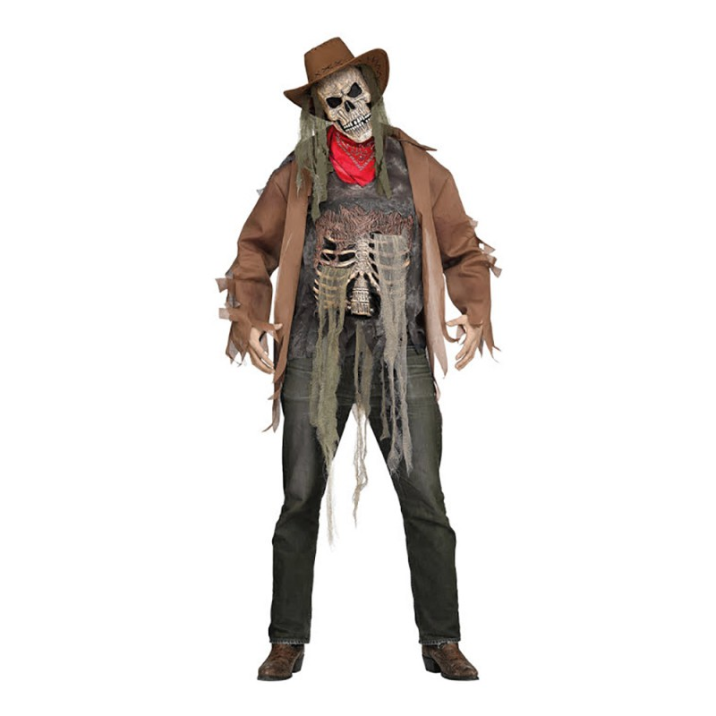 Cowboy Zombie Maskeraddräkt - One size