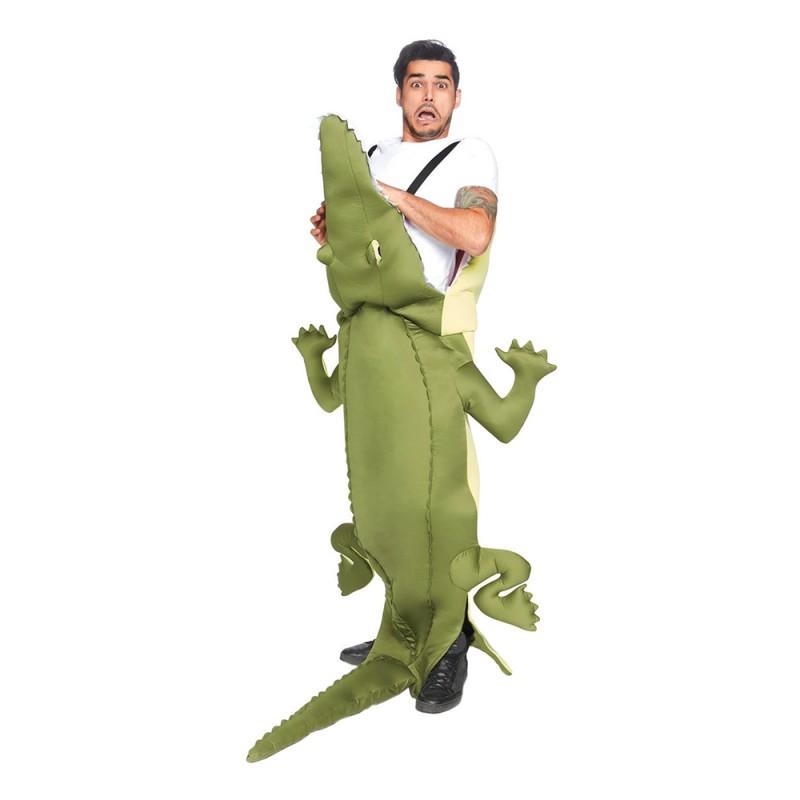 Uppäten av Alligator Maskeraddräkt - One size