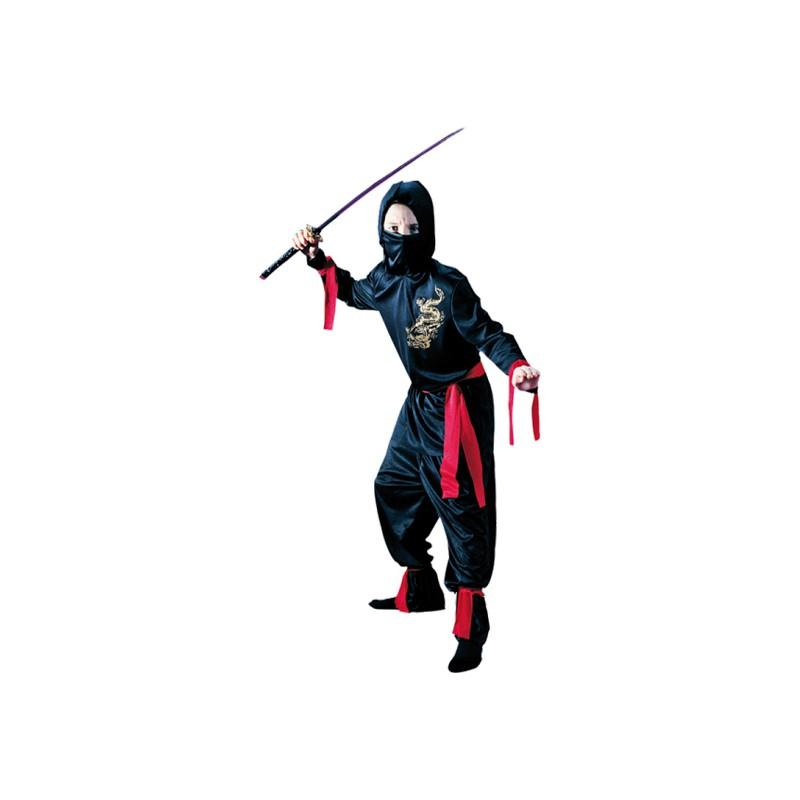 Ninja Barn Maskeraddräkt - Medium