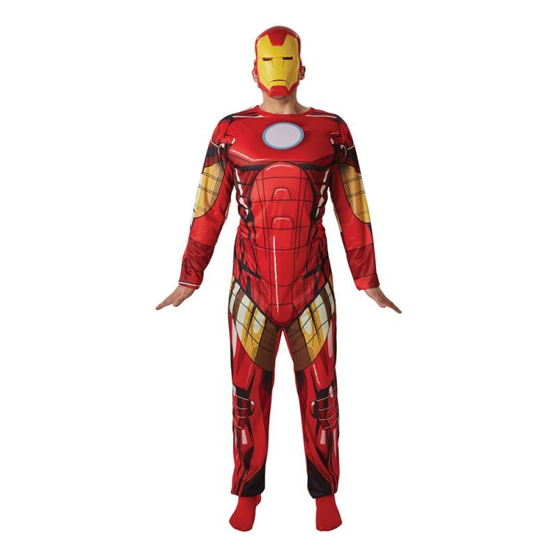 Iron Man Maskeraddräkt - X-Large