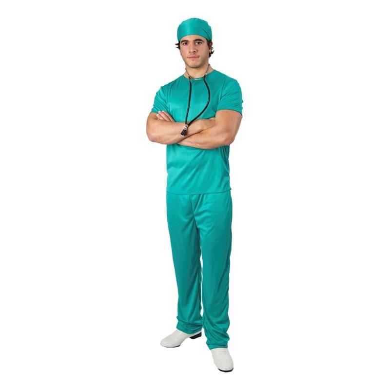 Kirurg Budget Maskeraddräkt - Standard