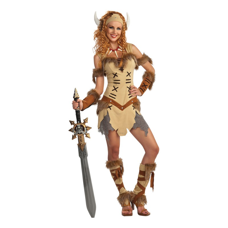 Viking Prinsessa Maskeraddräkt - One size