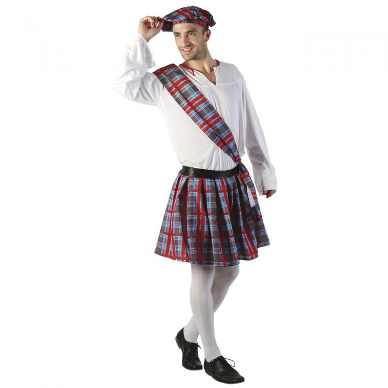 Skotsk Maskeraddräkt Herr