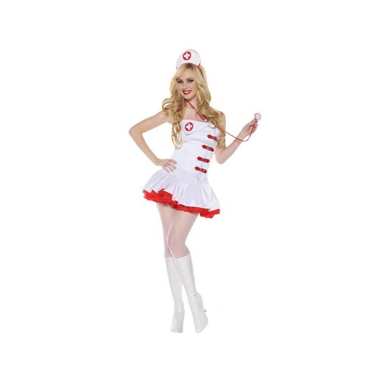 Sexig Sjuksköterska Budget Maskeraddräkt
