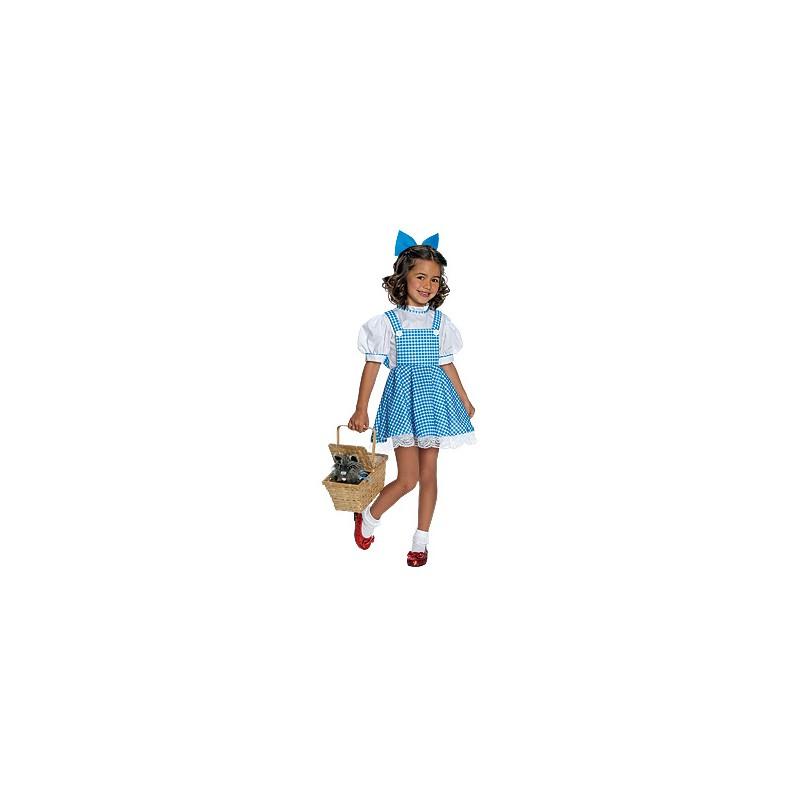 Trollkarlen Från Oz Dorothy Maskeraddräkt Barn