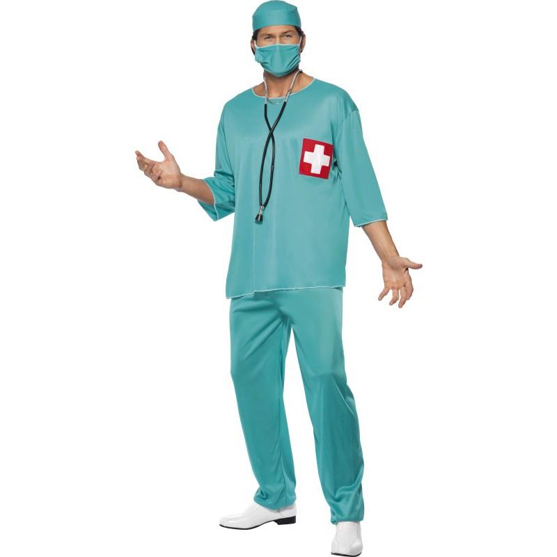 Kirurg Maskeraddräkt
