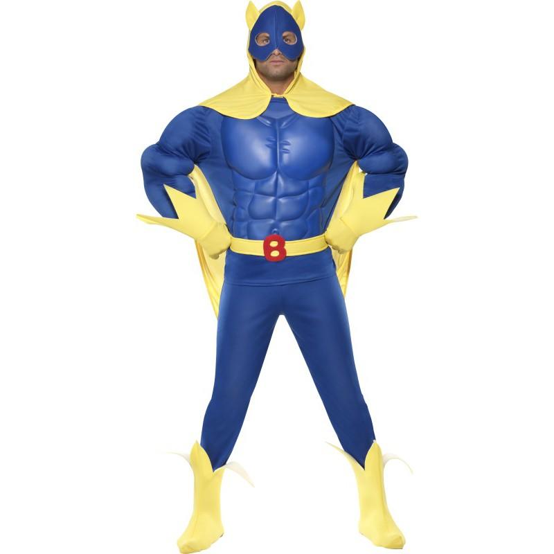 Bananmannen Maskeraddräkt Herr