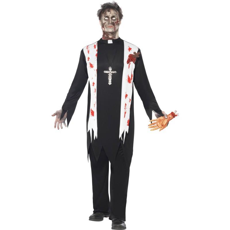 Zombiepräst Maskeraddräkt
