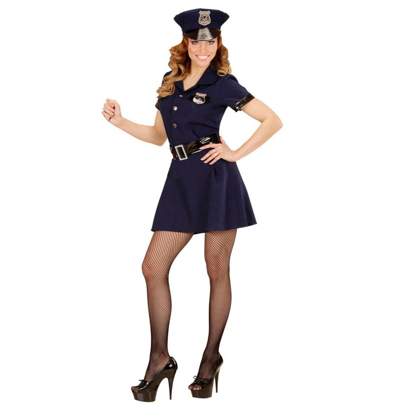 Poliskvinna Maskeraddräkt