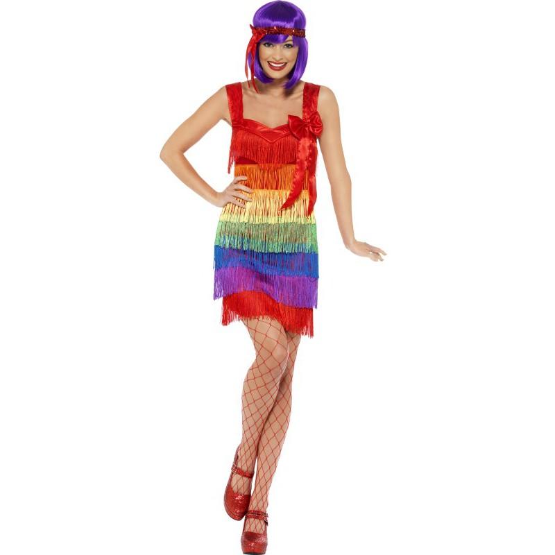 Flapper Pride Maskeraddräkt