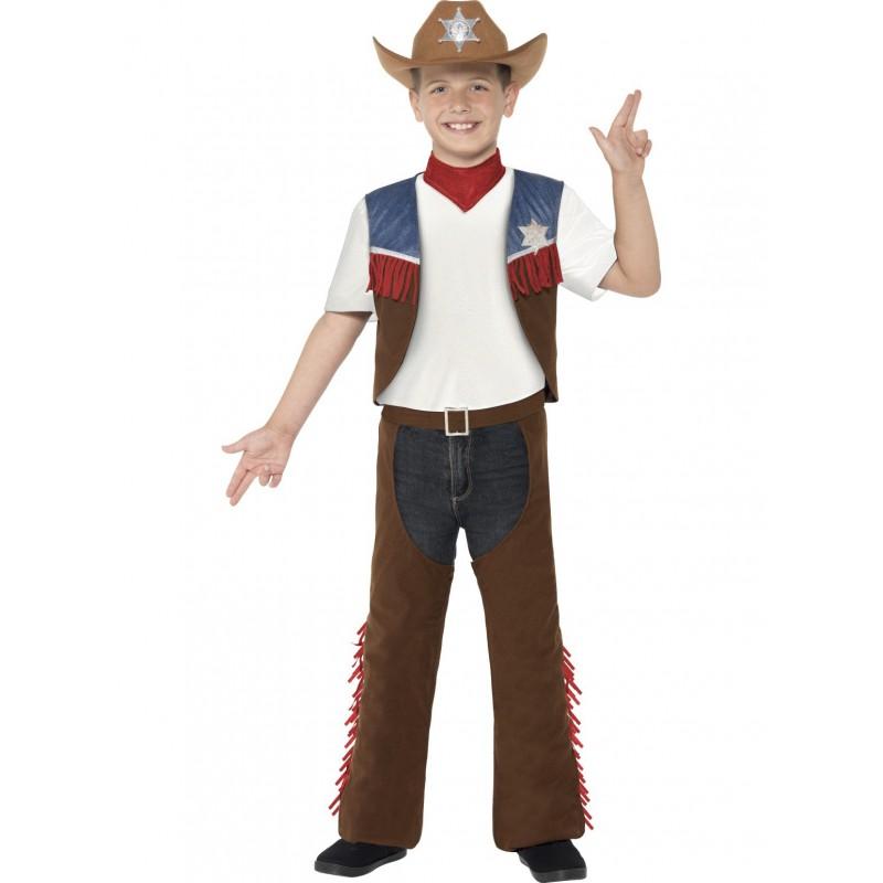 Cowboy Texas Maskeraddräkt Barn