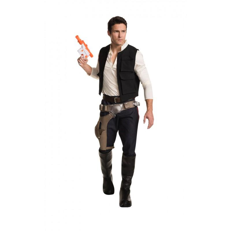 Han Solo Deluxe Maskeraddräkt Vuxen
