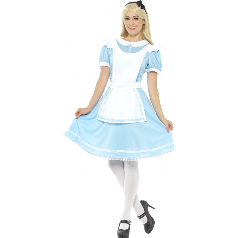 Prinsessklänning Maskeraddräkt Blå