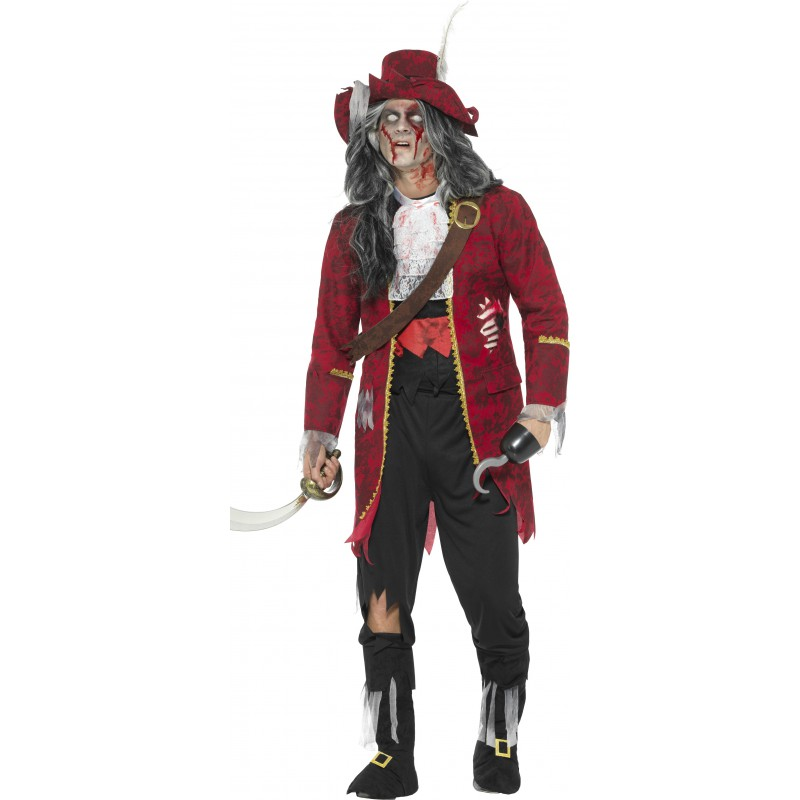 Zombie Pirat Maskeraddräkt Deluxe