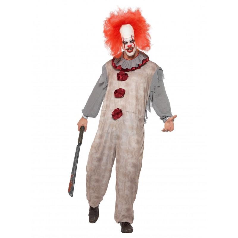 Clown Vintage Maskeraddräkt