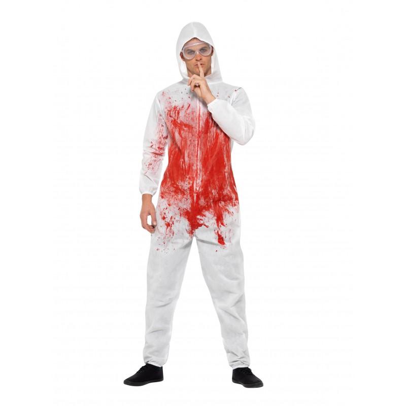 Blodig Kriminaltekniker Maskeraddräkt
