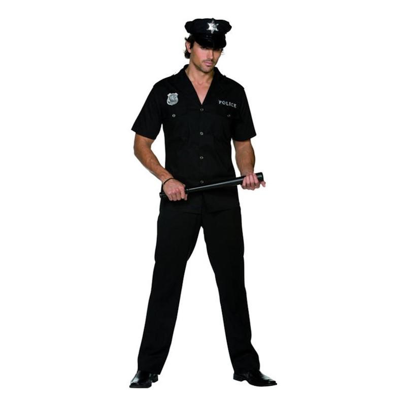 Polisman Maskeraddräkt - Medium