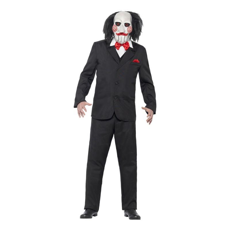 Saw Puppet Maskeraddräkt - Medium
