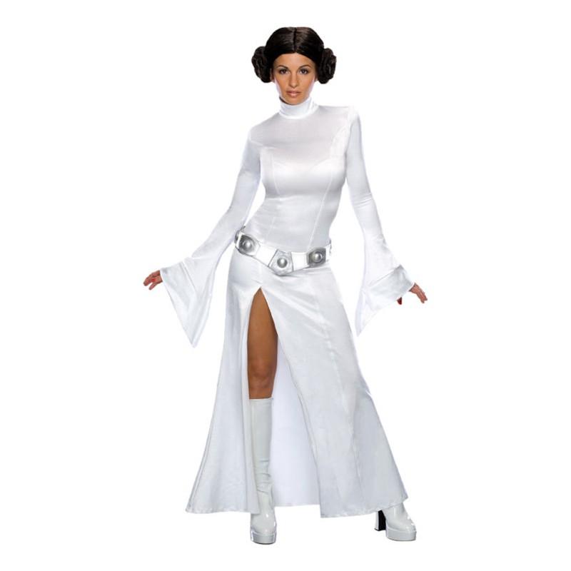 Söt Prinsessan Leia Maskeraddräkt - X-Small