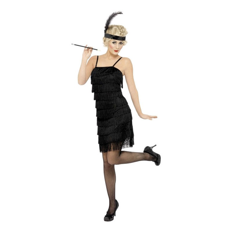 Flapper Maskeraddräkt - Small