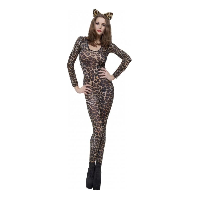Bodysuit Gepard Maskeraddräkt - One size