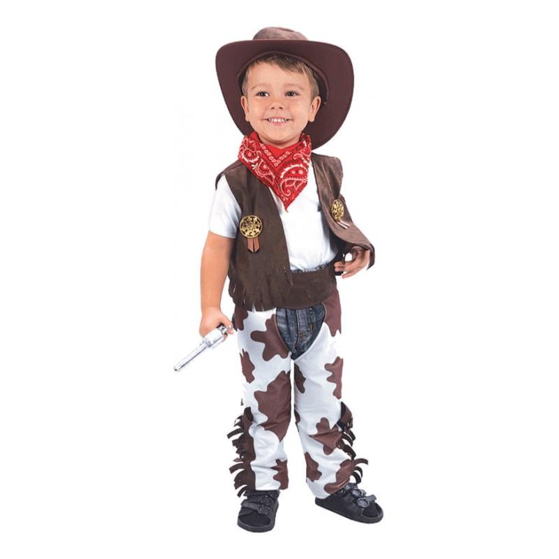 Cowboy Barn Maskeraddräkt - One size