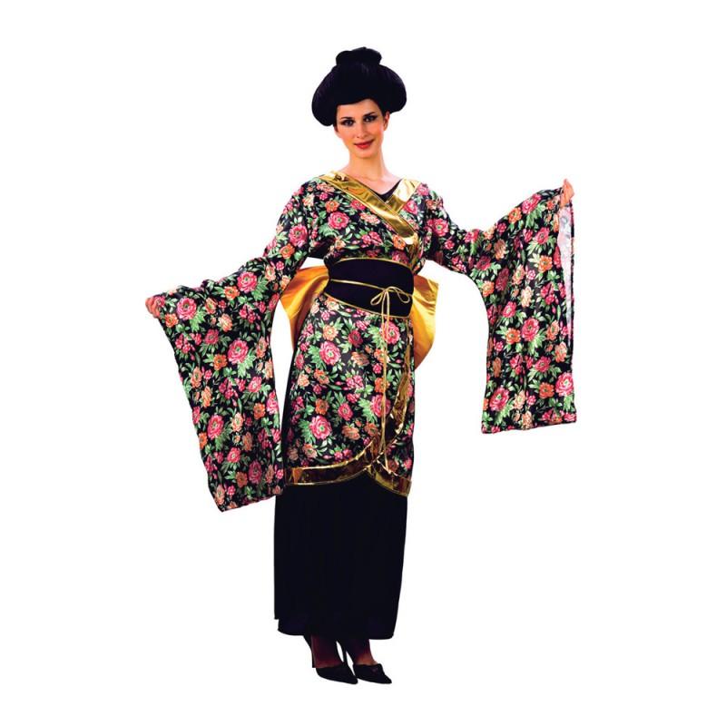 Geisha Maskeraddräkt - One size