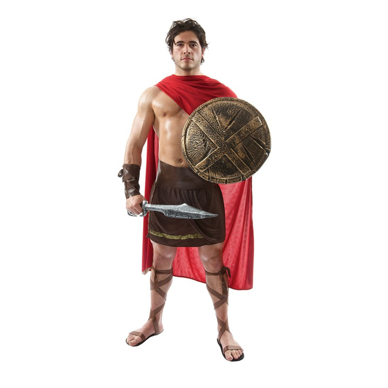 Spartan Krigare Budget Maskeraddräkt - Standard