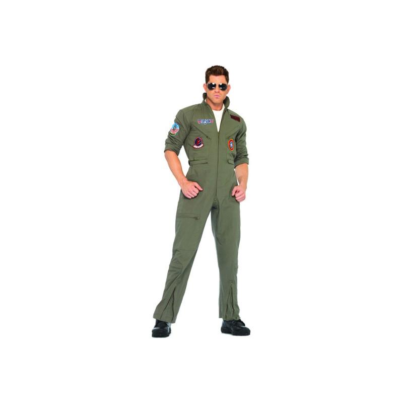 Top Gun Budget Maskeraddräkt - One size